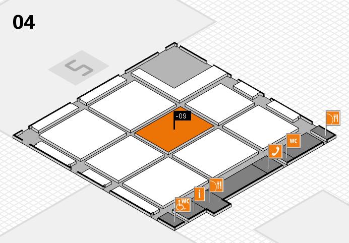 CARAVAN SALON 2016 hall map (Hall 4): stand -09
