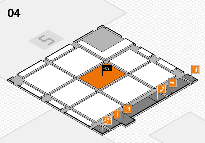 CARAVAN SALON 2016 Hallenplan (Halle 4): Stand -09