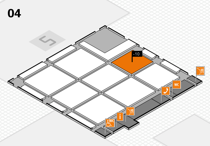 CARAVAN SALON 2016 hall map (Hall 4): stand -10