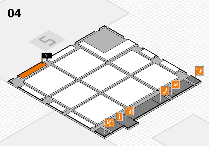 CARAVAN SALON 2016 hall map (Hall 4): stand -01