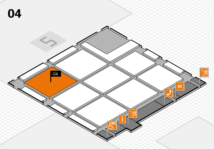 CARAVAN SALON 2016 hall map (Hall 4): stand -04