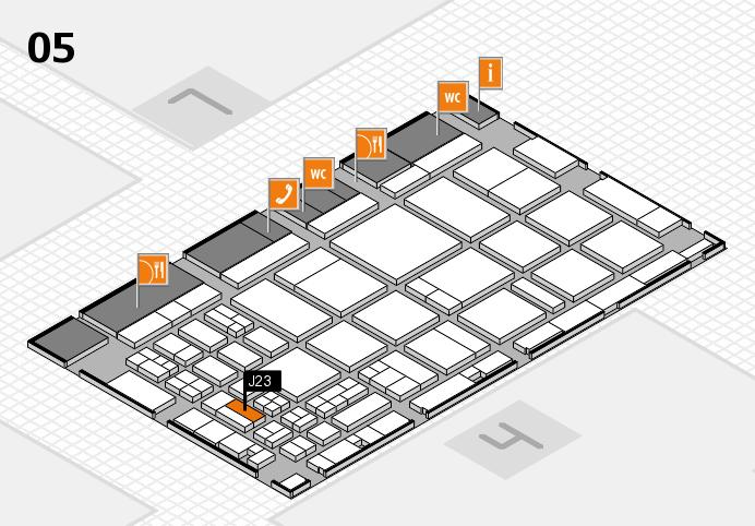 CARAVAN SALON 2016 Hallenplan (Halle 5): Stand J23