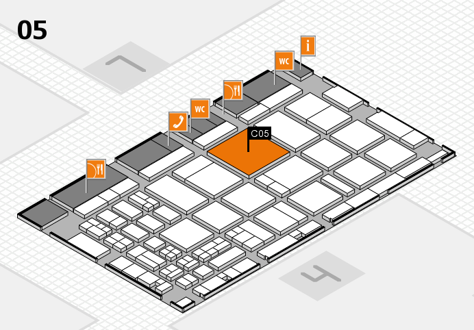 CARAVAN SALON 2016 hall map (Hall 5): stand C05