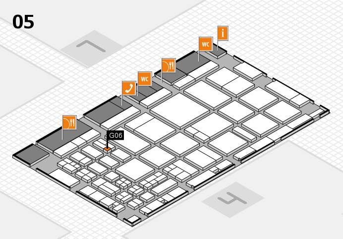 CARAVAN SALON 2016 hall map (Hall 5): stand G06