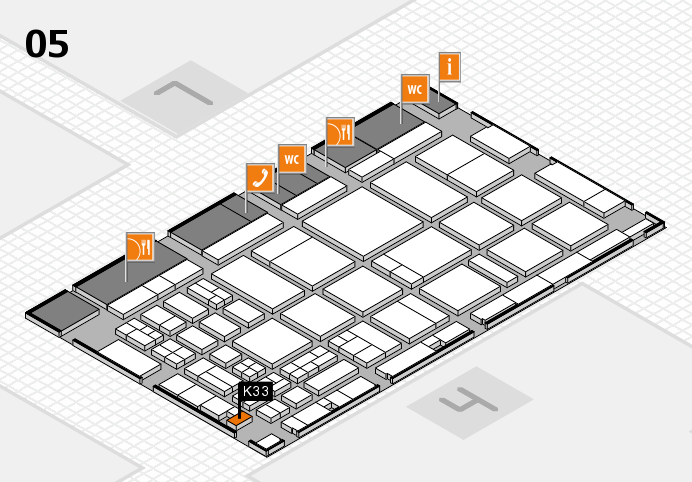 CARAVAN SALON 2016 Hallenplan (Halle 5): Stand K33