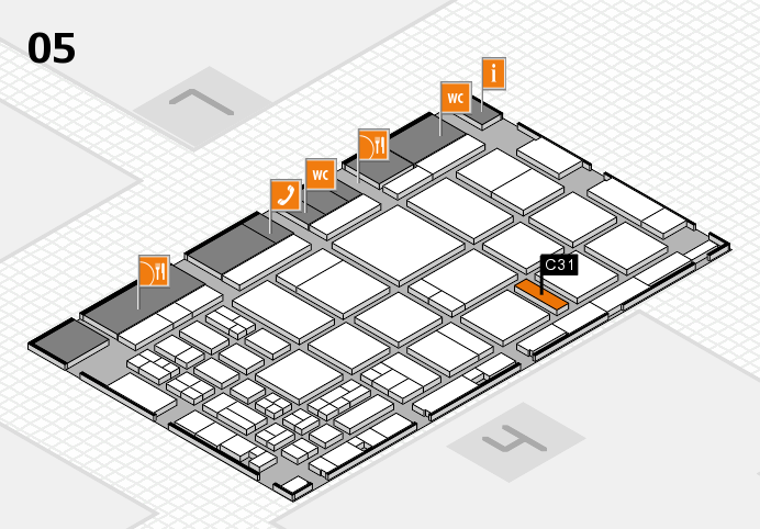 CARAVAN SALON 2016 hall map (Hall 5): stand C31