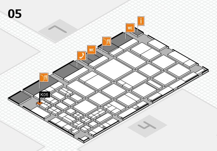 CARAVAN SALON 2016 hall map (Hall 5): stand K06
