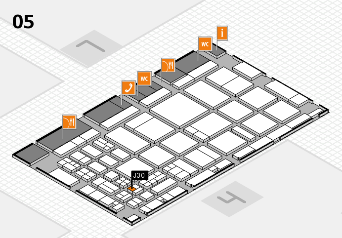 CARAVAN SALON 2016 Hallenplan (Halle 5): Stand J30