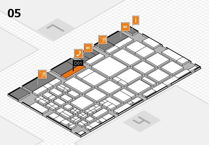 CARAVAN SALON 2016 Hallenplan (Halle 5): Stand D01