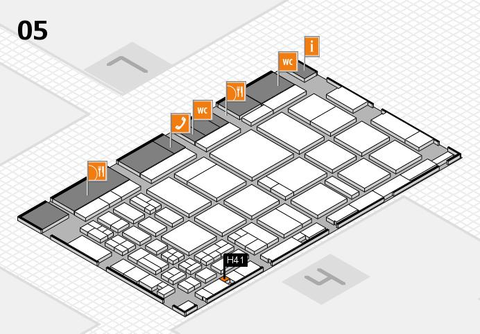 CARAVAN SALON 2016 Hallenplan (Halle 5): Stand H41