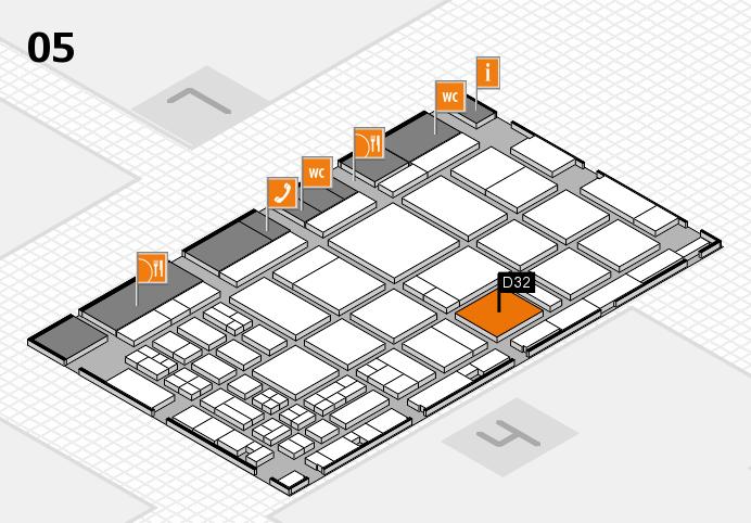 CARAVAN SALON 2016 Hallenplan (Halle 5): Stand D32