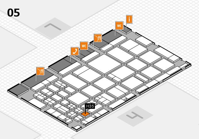 CARAVAN SALON 2016 Hallenplan (Halle 5): Stand H35