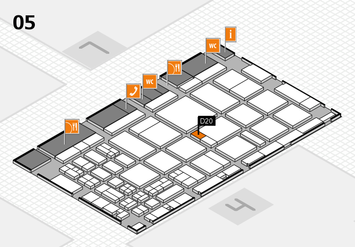 CARAVAN SALON 2016 hall map (Hall 5): stand D20