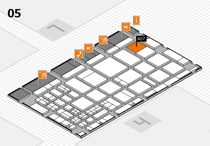 CARAVAN SALON 2016 hall map (Hall 5): stand A07