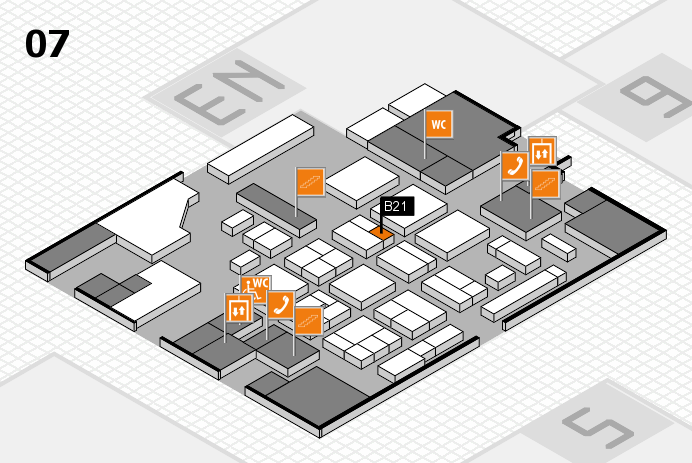 CARAVAN SALON 2016 hall map (Hall 7): stand B21