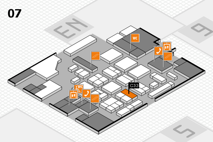CARAVAN SALON 2016 hall map (Hall 7): stand C33