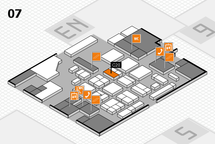 CARAVAN SALON 2016 hall map (Hall 7): stand C20