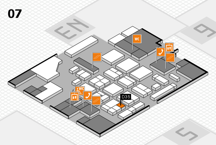 CARAVAN SALON 2016 hall map (Hall 7): stand D35