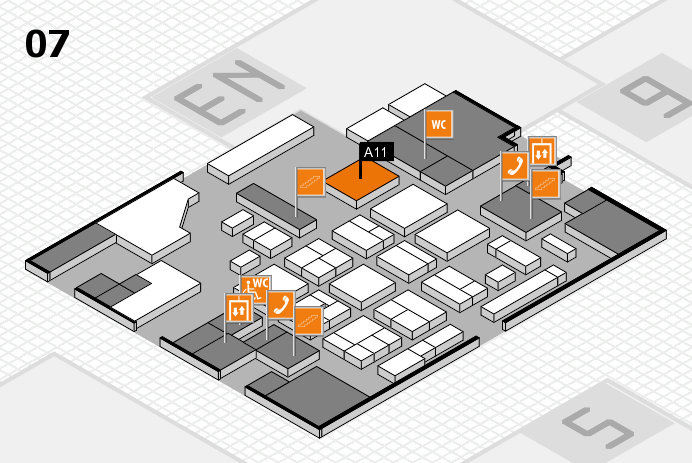 CARAVAN SALON 2016 hall map (Hall 7): stand A11