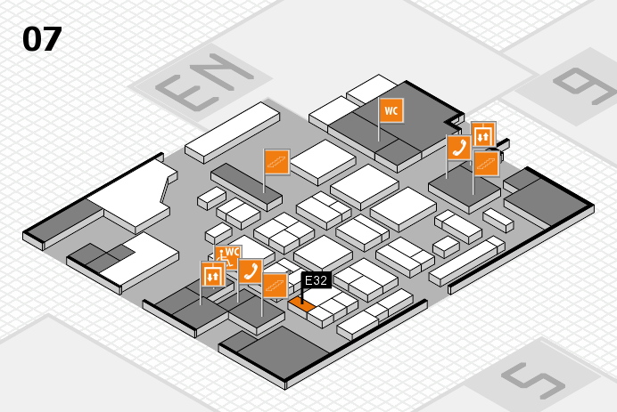 CARAVAN SALON 2016 hall map (Hall 7): stand E32