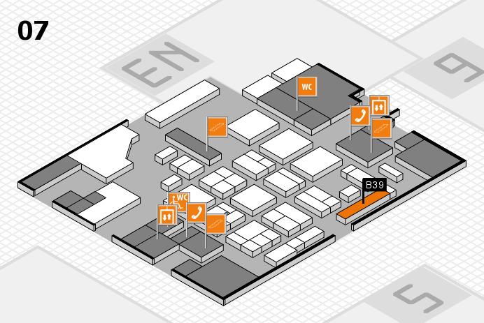 CARAVAN SALON 2016 hall map (Hall 7): stand B39