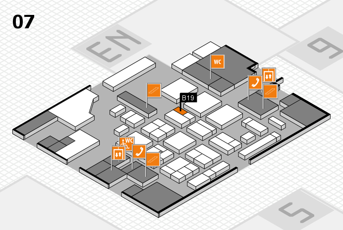CARAVAN SALON 2016 hall map (Hall 7): stand B19