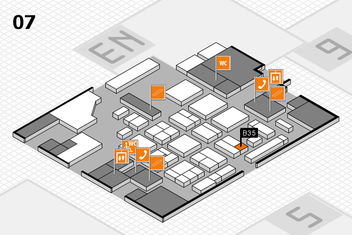 CARAVAN SALON 2016 hall map (Hall 7): stand B35
