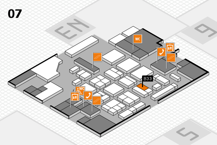 CARAVAN SALON 2016 hall map (Hall 7): stand B33