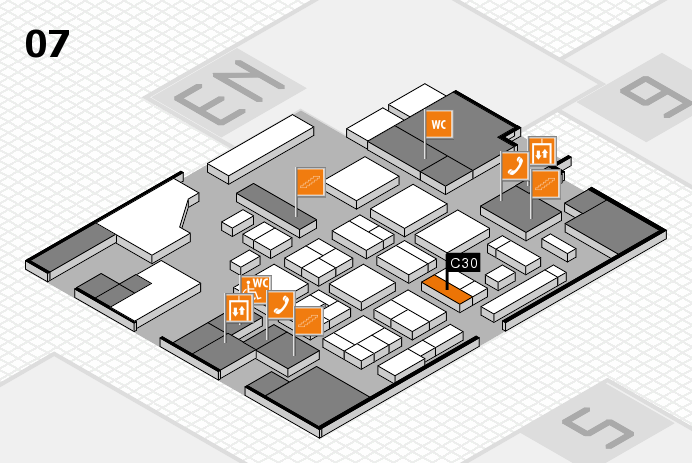 CARAVAN SALON 2016 hall map (Hall 7): stand C30