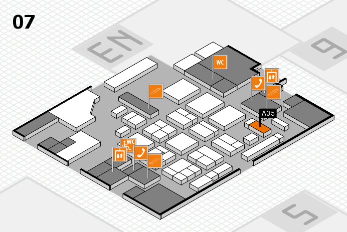 CARAVAN SALON 2016 hall map (Hall 7): stand A35