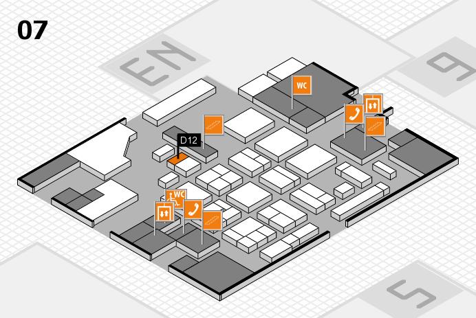 CARAVAN SALON 2016 hall map (Hall 7): stand D12
