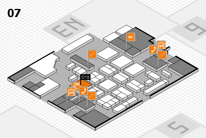 CARAVAN SALON 2016 hall map (Hall 7): stand D19
