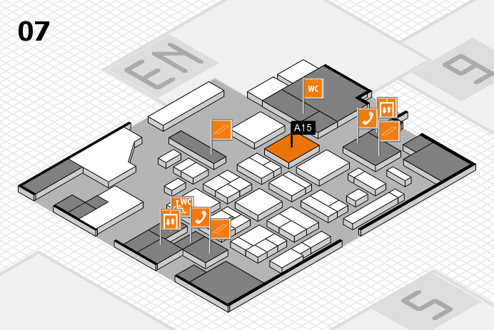 CARAVAN SALON 2016 hall map (Hall 7): stand A15