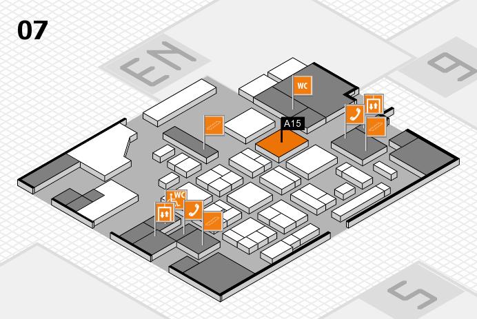 CARAVAN SALON 2016 hall map (Hall 7): stand A15