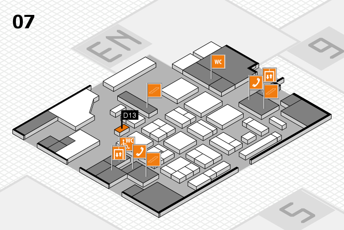 CARAVAN SALON 2016 hall map (Hall 7): stand D13