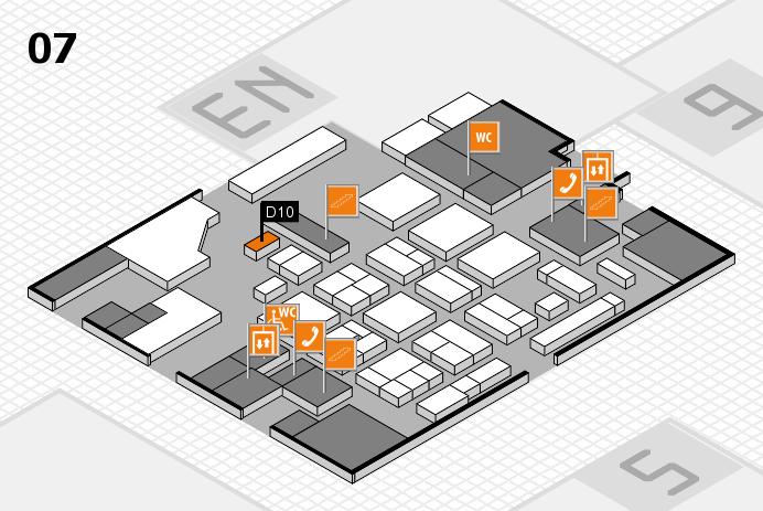 CARAVAN SALON 2016 hall map (Hall 7): stand D10
