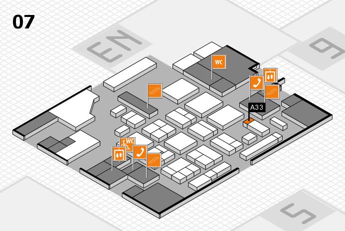 CARAVAN SALON 2016 hall map (Hall 7): stand A33