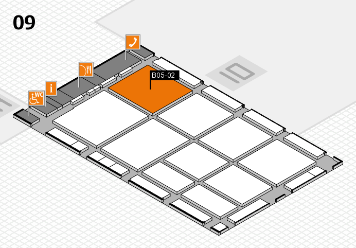 CARAVAN SALON 2016 hall map (Hall 9): stand B05-02