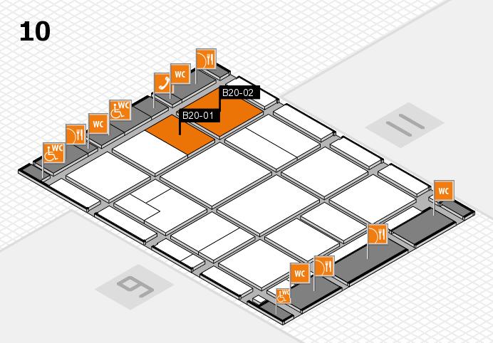 CARAVAN SALON 2016 Hallenplan (Halle 10): Stand B20-01, Stand B20-02