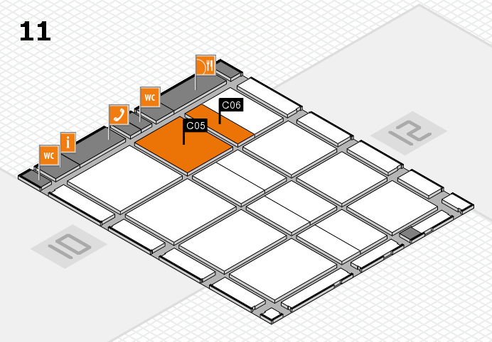 CARAVAN SALON 2016 Hallenplan (Halle 11): Stand C05, Stand C06