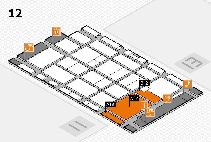 CARAVAN SALON 2016 Hallenplan (Halle 12): Stand A17, Stand B12