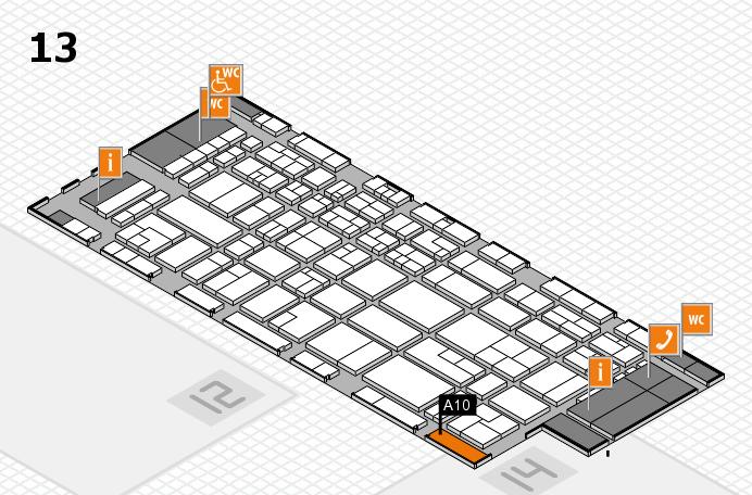 CARAVAN SALON 2016 hall map (Hall 13): stand A10