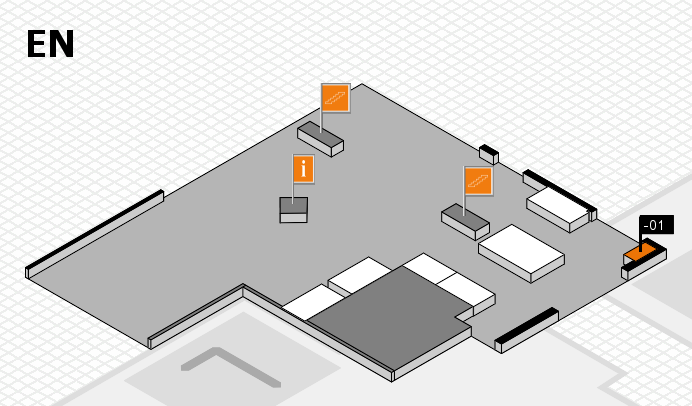 CARAVAN SALON 2016 hall map (North Entrance): stand -01