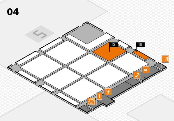 CARAVAN SALON 2017 hall map (Hall 4): stand -10, stand -16