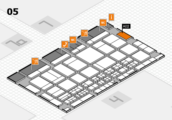 CARAVAN SALON 2017 hall map (Hall 5): stand A02