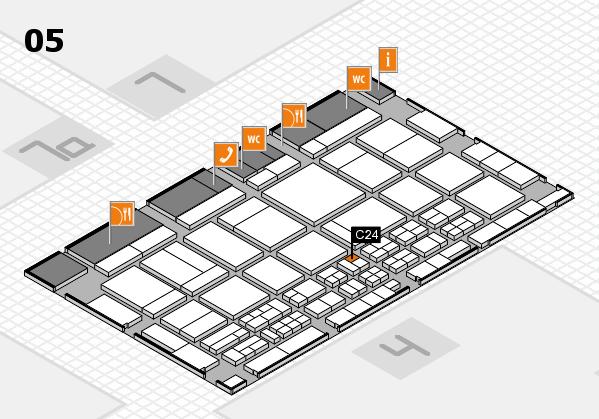 CARAVAN SALON 2017 Hallenplan (Halle 5): Stand C24