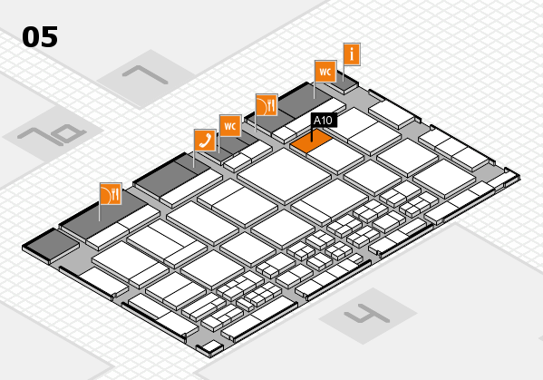 CARAVAN SALON 2017 hall map (Hall 5): stand A10