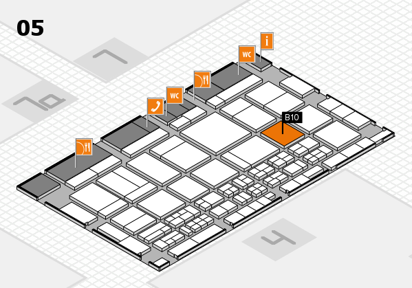 CARAVAN SALON 2017 hall map (Hall 5): stand B10