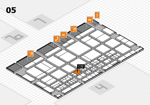 CARAVAN SALON 2017 hall map (Hall 5): stand C32