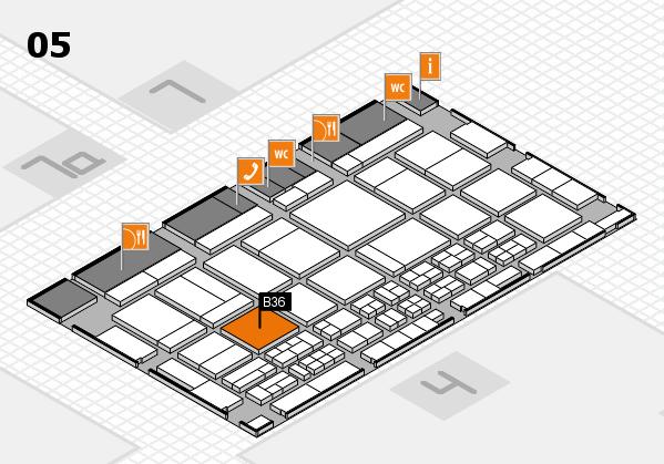 CARAVAN SALON 2017 Hallenplan (Halle 5): Stand B36